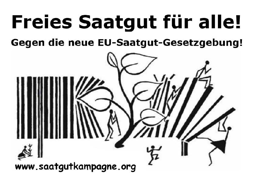 Freies Saatgut für alle!