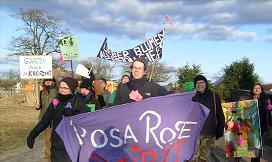 Demo RosaRose bleibt