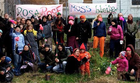 Rosa Rose muss Bleiben